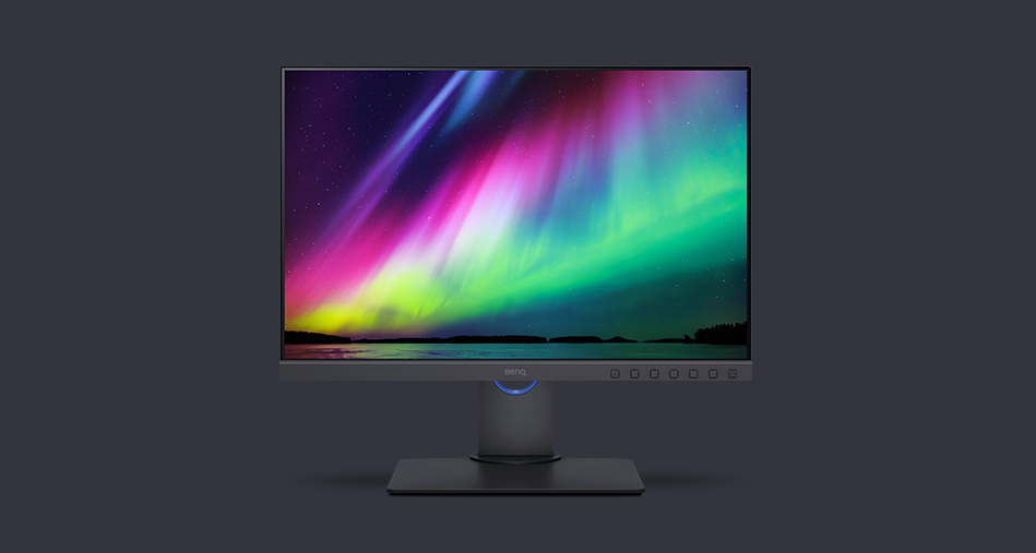 News BenQ PhotoVue SW240 Color-Management Monitor
