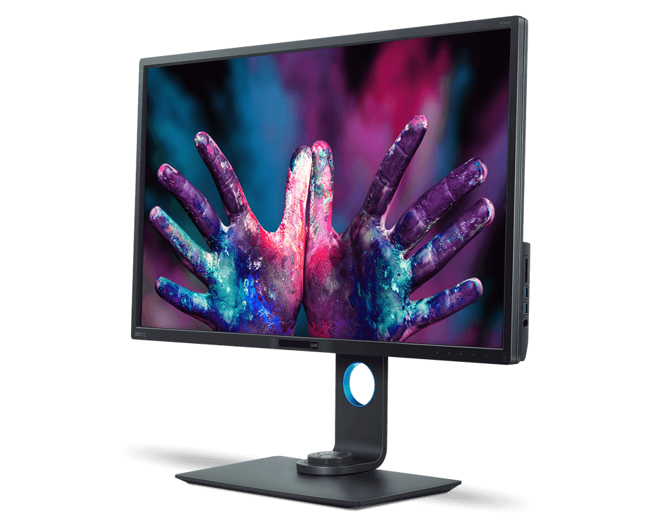 BenQ Monitor - benq-studio-serien-PD3200U-left