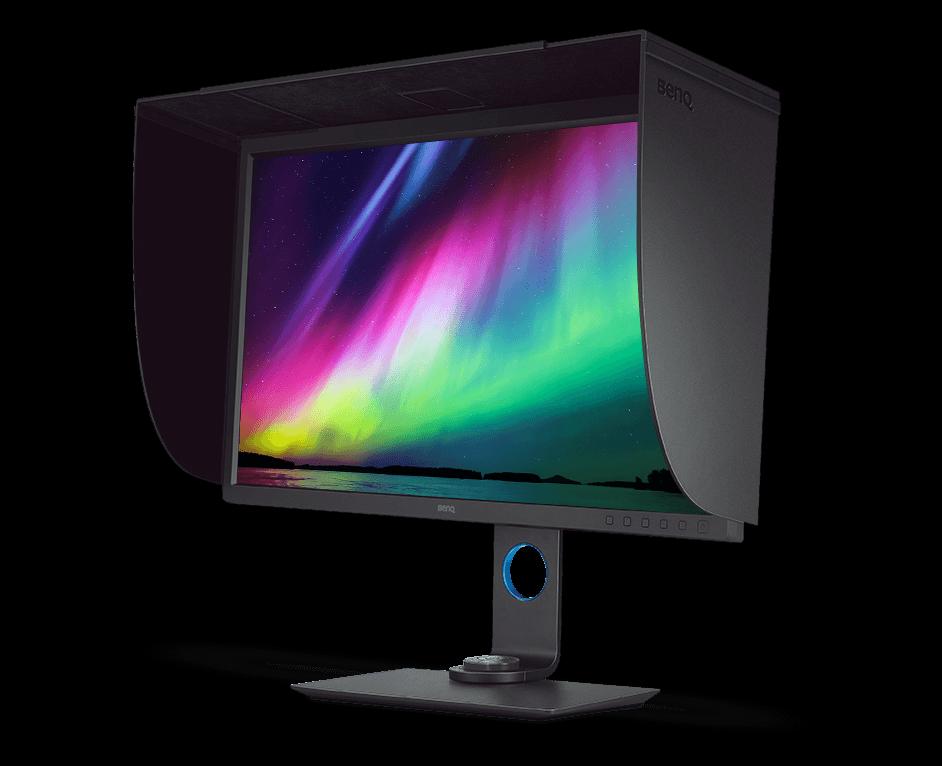 BenQ Monitor - benq-studio-serien-photovue-sw-serie-SW320-left