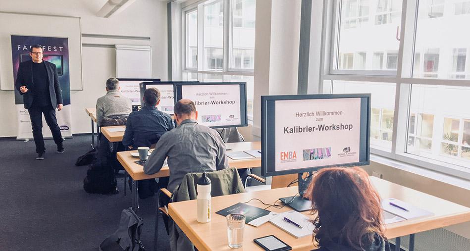 Kalibrierworkshop-Color-Management-EMBA, Duesseldorf