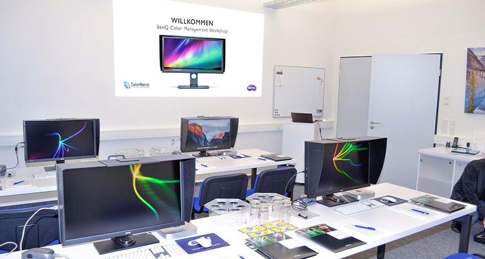 Colormatch Willkommen-Color-Workshop