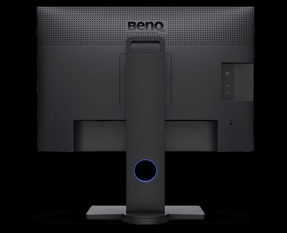 BenQ Monitor - Grafikmonitor PhotoVue Monitor für Fotografen BenQ SW Serie SW240 Rückansicht