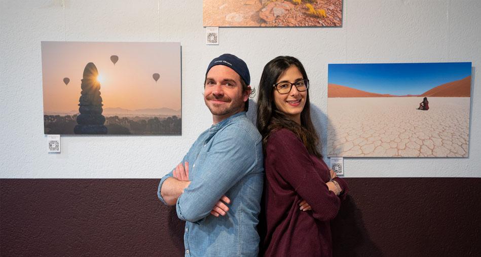 Fotoausstellung im Impact Hub von Journey Glimpse