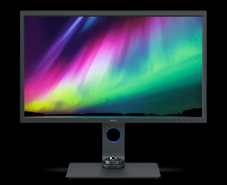 BenQ Monitor - benq-studio-monitor-fuer-fotografen-sw321c-front