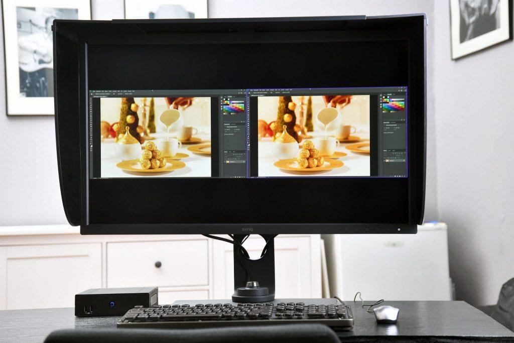 BenQ SW321C, Monitor für die Bildbearbeitung, im Einsatz!